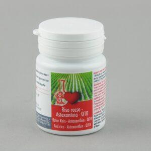 Riso rosso fermentato-Astaxantina-Coenzima Q10